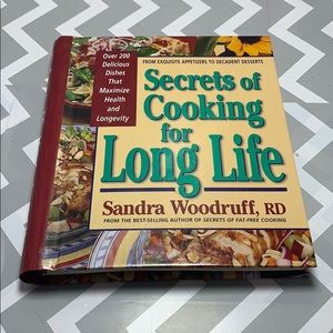 The Secrets of Cooking for Long Life Recipe Book